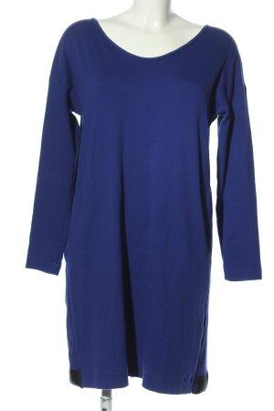 Marc Cain Shirtkleid blau Casual-Look
