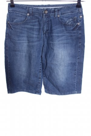 Marc Cain Shorts blau Casual-Look