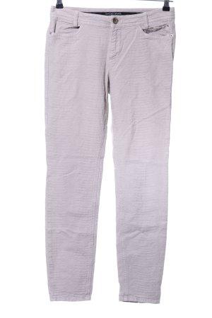 Marc Cain Skinny Jeans hellgrau Animalmuster Casual-Look