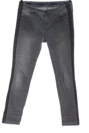 Marc Cain Skinny Jeans hellgrau Casual-Look