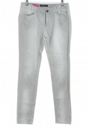 Marc Cain Skinny Jeans hellgrau Business-Look