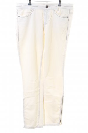 Marc Cain Slim Jeans creme Casual-Look