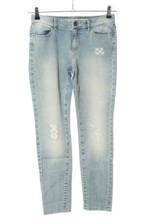Marc Cain Slim Jeans blau Casual-Look