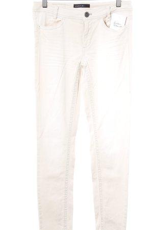 Marc Cain Slim Jeans hellbeige schlichter Stil