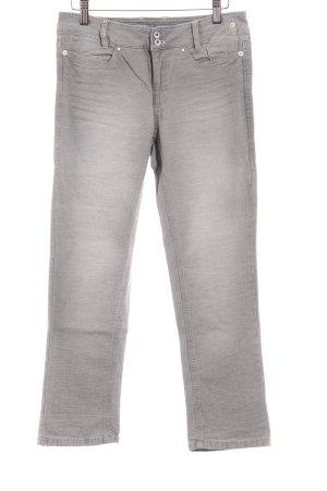Marc Cain Slim Jeans hellgrau Casual-Look