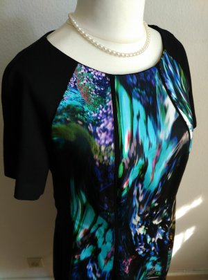 Marc Cain Shortsleeve Dress multicolored polyester