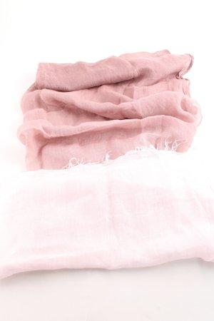 Marc Cain Sommerschal pink-weiß Farbverlauf Business-Look