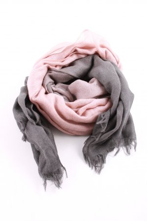 Marc Cain Sommerschal pink-hellgrau Casual-Look