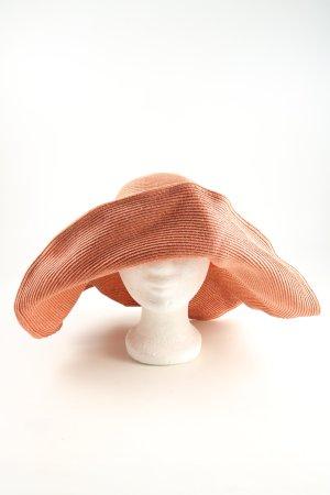 Marc Cain Cappello parasole arancione chiaro stile casual