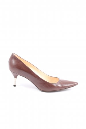 Marc Cain Pointed Toe Pumps red elegant