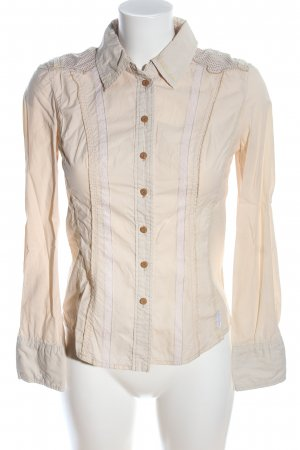 Marc Cain Spitzenbluse creme-wollweiß Casual-Look