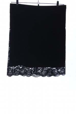 Marc Cain Lace Skirt black casual look