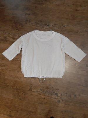 marc cain sports Siateczkowa koszulka biały