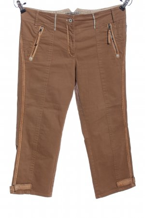 marc cain sports Bermuda brons-wolwit casual uitstraling