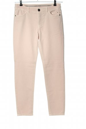 marc cain sports Spodnie z pięcioma kieszeniami kremowy W stylu casual
