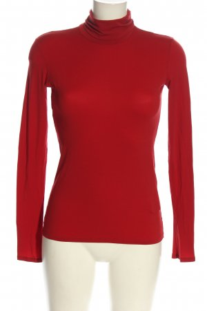 marc cain sports Turtleneck Shirt red casual look