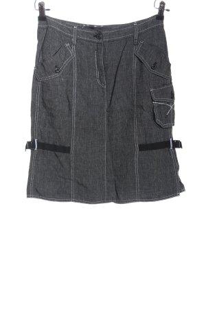 marc cain sports Jupe tricotée gris clair style décontracté