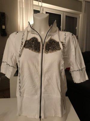 marc cain sports Koszulka z kapturem biały