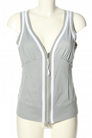 Marc Cain Sports Vests light grey-white casual look