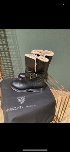 Marc Cain Fur Boots black