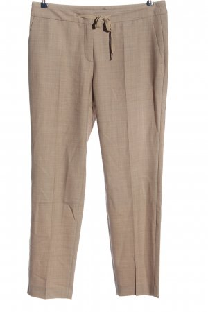 Marc Cain Stoffhose braun meliert Business-Look