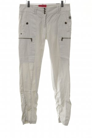 Marc Cain Stoffhose creme Casual-Look