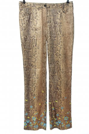 Marc Cain Jersey Pants animal pattern casual look