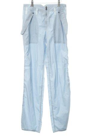 Marc Cain Stoffhose blau Street-Fashion-Look
