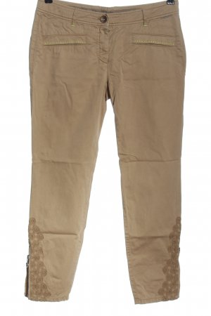 Marc Cain Jersey Pants brown casual look