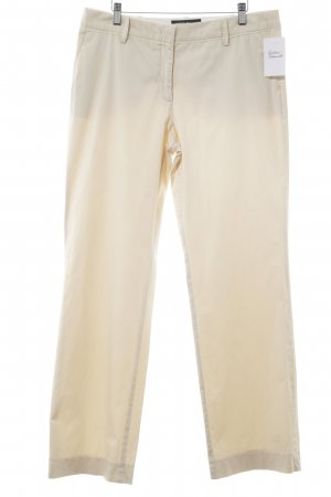 Marc Cain Stoffhose creme Business-Look