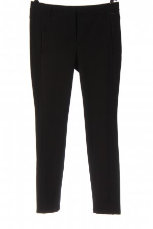 Marc Cain Jersey Pants black business style