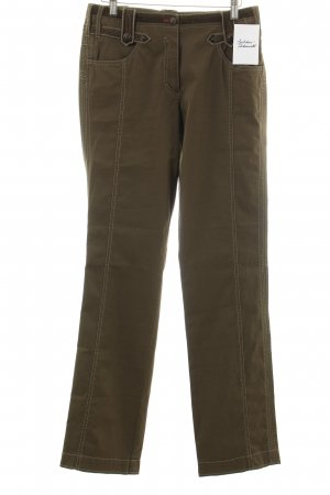 Marc Cain Stoffhose khaki Military-Look