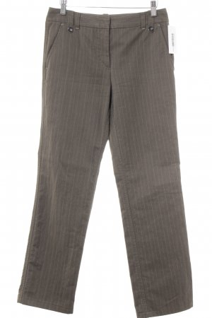 Marc Cain Stoffhose Streifenmuster Casual-Look