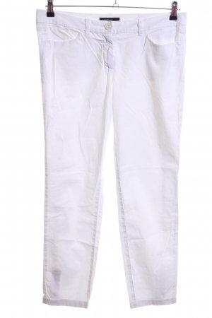 Marc Cain Jersey Pants white casual look