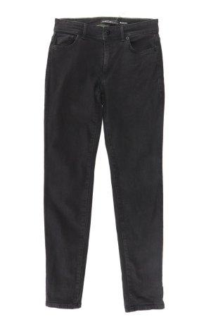 Marc Cain Straight Jeans Größe 34 neuwertig schwarz aus Baumwolle