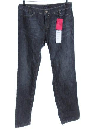 Marc Cain Jeans met rechte pijpen blauw casual uitstraling