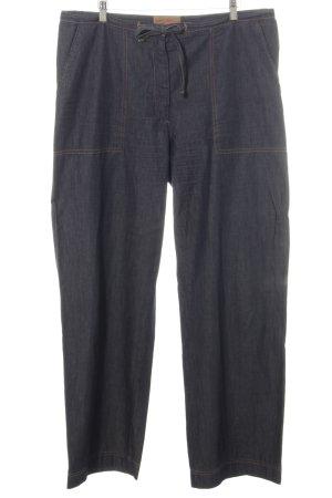 Marc Cain Straight-Leg Jeans blau Casual-Look