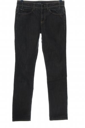 Marc Cain Straight-Leg Jeans schwarz Casual-Look