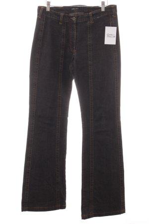 Marc Cain Straight-Leg Jeans dunkelgrau Casual-Look