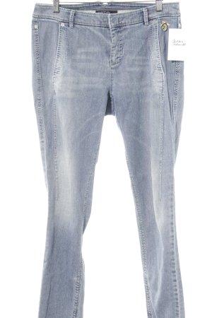 Marc Cain Straight-Leg Jeans himmelblau Washed-Optik