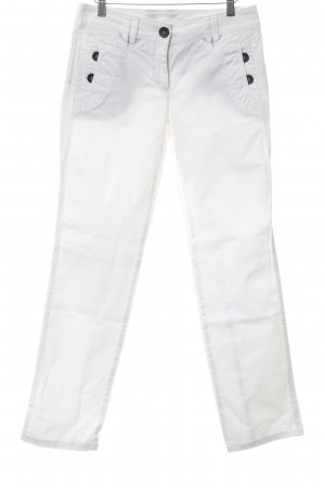 Marc Cain Straight-Leg Jeans weiß Casual-Look
