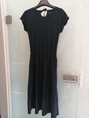 Marc Cain Stretch Kleid lang schwarz N3 38-40