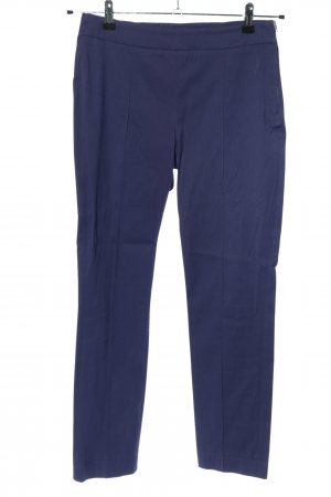 Marc Cain Stretch Trousers blue casual look