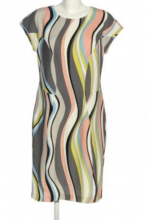 Marc Cain Stretchkleid abstraktes Muster Casual-Look