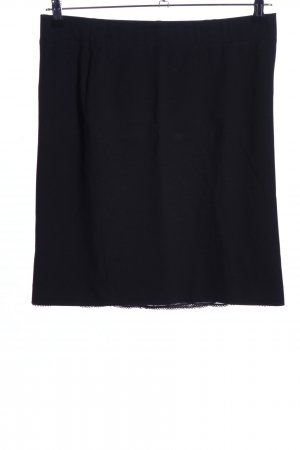 Marc Cain Stretchrock schwarz Business-Look