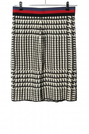 Marc Cain Stretchrock abstraktes Muster Business-Look