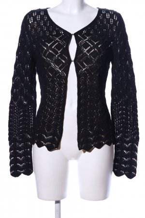 Marc Cain Strick Cardigan schwarz Casual-Look