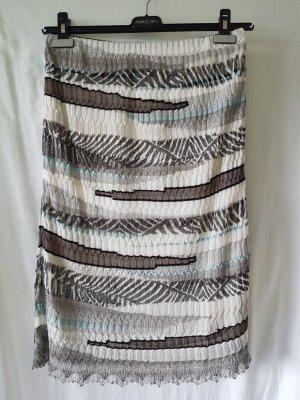 Marc Cain Jupe tricotée multicolore coton