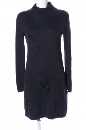 Marc Cain Knitted Dress black flecked casual look