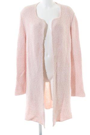 Marc Cain Gebreide jas roze casual uitstraling